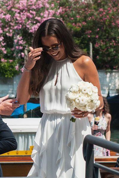 Die Schonsten Brautkleider Der Stars Schweinsteiger Hochzeit Braut Looks Braut