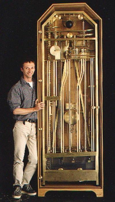 Ball Bearing Clock Hacked Gadgets Diy Tech Blog Diy Tech Clock Antique Clocks