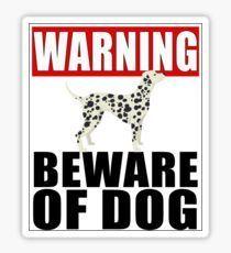 Funny Beware of the GREAT DANE Dog Vinyl Car Van Decal Sticker Pet Lover