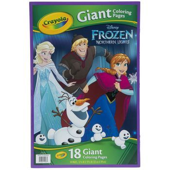 Crayola Frozen Northern Lights Giant Coloring Pages Coloring Pages Disney Princess Coloring Pages Disney Princess Colors
