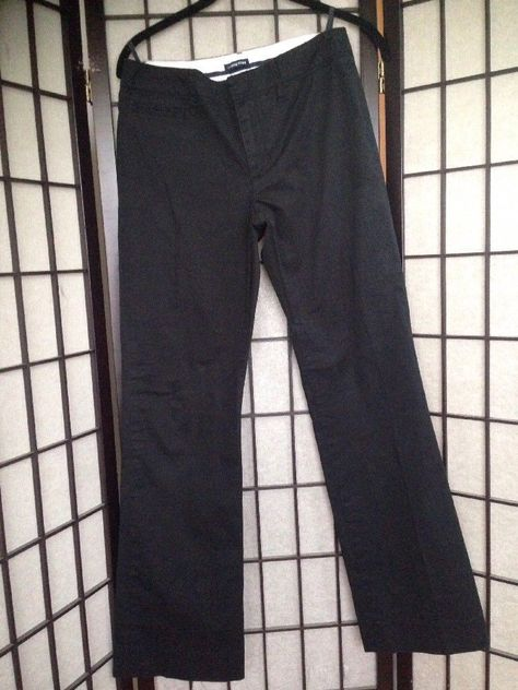 Gap Size 4 Stretch Black Work Work Trousers #Gap