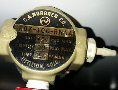 Ad Ebay Norgren R07 100 Rnaa Pressure Regulator Used Great Condition 1 8 In Out Port Compressed Air Things To Sell Air Pressure