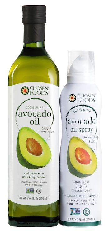 Avocado Oil And Spray Chosen Foods Homemade Sauce High Heat Cooking