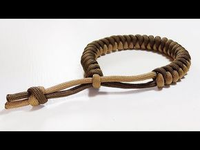 Paracord Tutorial 2 Color Snake Knot Bracelet With Mad Max