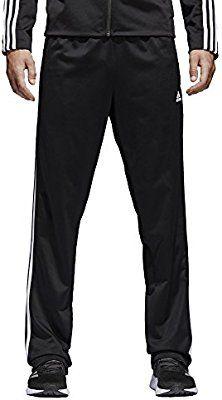 6510ba698479a Amazon.com: adidas Men's Athletics Essential Tricot 3-Stripe Pants ...
