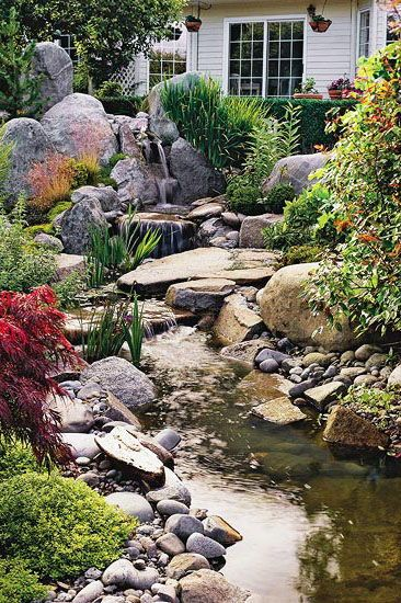20 Landscaping Ideas To Perk Up Your Backyard Backyard Landscaping Water Features In The Garden Dream Water
