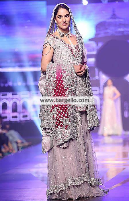 Pakistani Walima Bridal Dresses Designer Bridal Sharara for Walima Pakistan