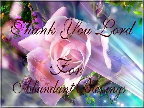 Thank You Lord.                                                       …