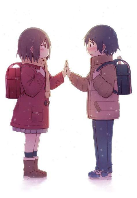 erased anime gloves