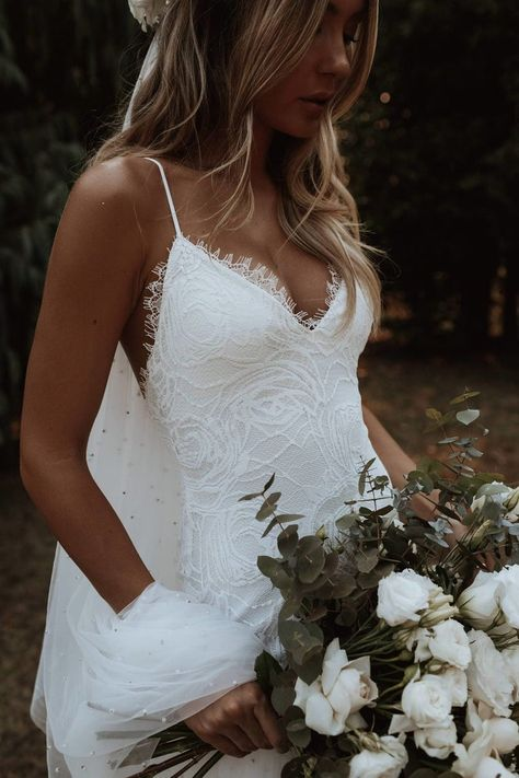 Grace Loves Lace, Dream Wedding Dresses, Bridal Dresses, Weeding Dresses, Lace Wedding Dresses, Party Dresses, Perfect Wedding Dress, Bohemian Lace Wedding Dress, Lace Trumpet Wedding Dress
