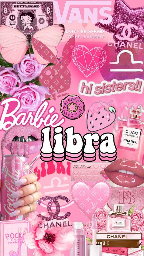 Discover the coolest #freetoedit #libra #libraseason #chanel #pink #collage #wallpaper #lockscreen #homescreen #background #aesthetic #zodiac #horoscope #astro
