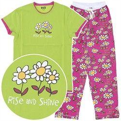 LazyOne Femmes Rise and Shine Pyjama T Shirt