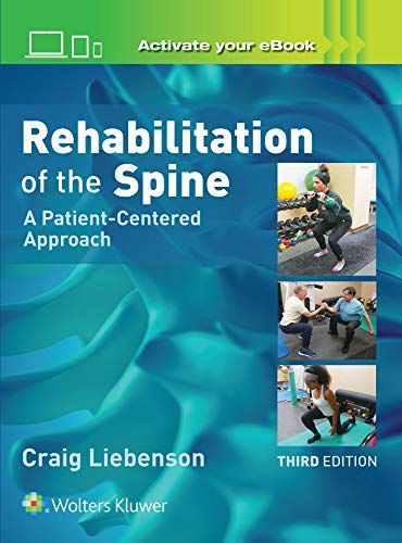 Pdf Rehabilitation Of The Spine A Patient Centered Approach Ebook Download Free Epub Mobi Ebooks Rehabilitation Cengage Learning Ebooks Online
