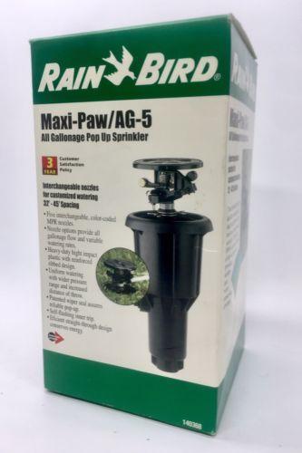 Lawn Sprinklers 20542 Rain Bird Pop Up Impact Lawn Water Rotor Sprinkler Head Heavy Duty Ag 5 Buy It Now Only Sprinkler Lawn Sprinklers Sprinkler Heads
