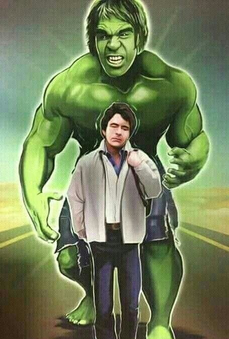 DR. DAVID BANNER AND ALTER EGO THE HULK | Incredible hulk, Incredible hulk  tv, Hulk