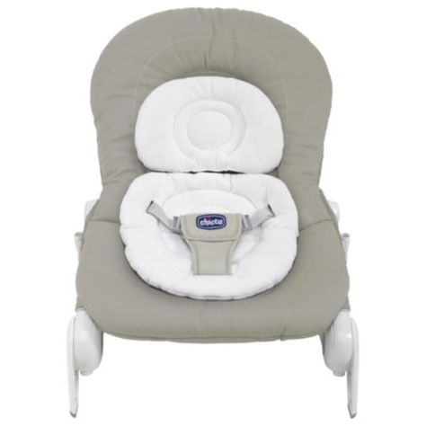 Chicco Hoopla Baby Bouncer Silver Bebe