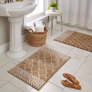 Mohawk Horizon Fountainbleau Bath Rug 2 3 X 3 9 Navy Blue Mohawk Home Bath Bathroomrugsbathmatsbrown Brown Bath Mat Bath Rug Decorative Bath Rugs