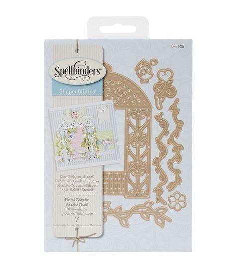 Spellbinders Shapeabilities Dies-Floral Gazebo