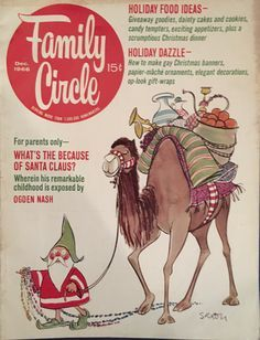 Image result for vintage family circle magazine gyo fujikawa