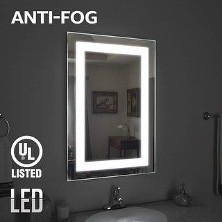 Shop For Fogless Led Lighted Makeup Mirror Wall Mounted Vanity