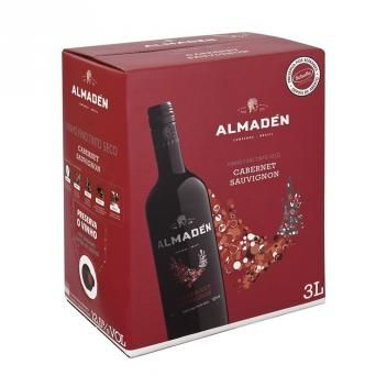 Vinho Almaden Cabernet Sauvignon Bag In Box Safra 2016 3000ml