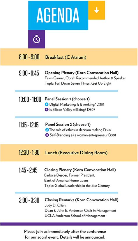 7 best Conference Schedules images on Pinterest Books, Event - event agenda