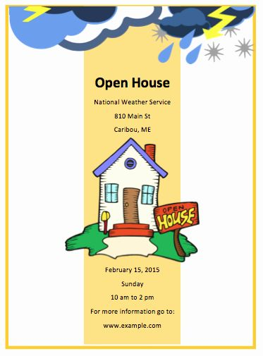 School Open House Invitation Template Best Of School Open House Invitation Open House Invitation Free Flyer Templates Party Invite Template