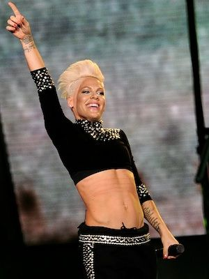 Pink Photos - Singer P!nk performs at the Staples Center on October 2013 in Los Angeles, California. - Pink and New Politics Perform in LA