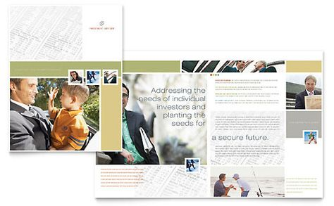 Foster Care and Adoption Brochure Template Design by StockLayouts - brochure template word