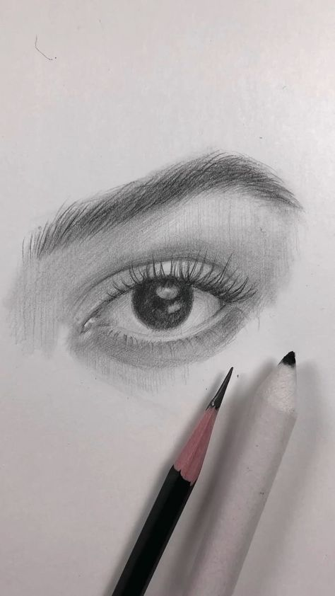 Follow me on Instagram for more @nadiacoolrista Source by Marselina96 The post Drawing of the eye. How I draw an eye video appeared first on Pencil Drawing.