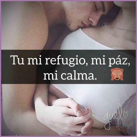 #frasesparaminovio #frasesdeamorparaminovio #frasesdepareja #nochedepoemas #relaciones   Eres mi refugio eres mi paz eres mi calma eres simplemente mi vida ¡¡te amo!!
