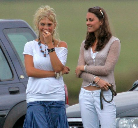 The women had very different personalities but Kate 'stuck to her like glue' when they both attended a society wedding, according to a biographer
