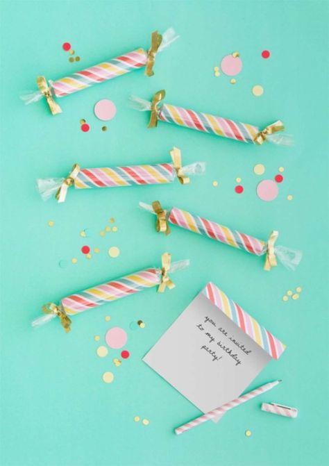 Ideas Originales Para Hacer Invitaciones De Cumpleaños