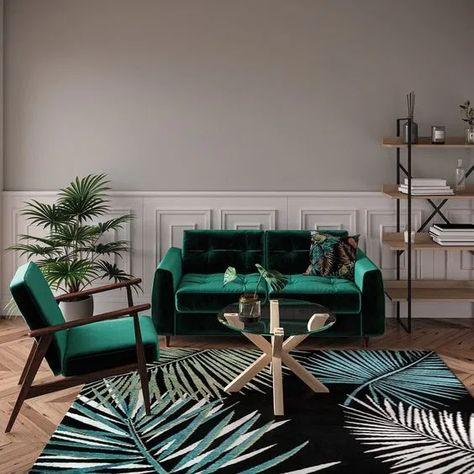 Collection Conforama Automne Hiver 2019 2020 Clem Around The Corner Deco Canape Vert Salon Vert Meubles De Salon Blanc