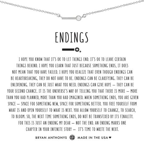 Bryan Anthonys dainty endings necklace silver