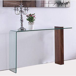 Modern Console Sofa Tables Allmodern Contemporary Console Table Console Table Narrow Console Table