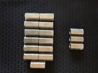 Sponsored Ebay Rod Coupling Nuts 3 4 10 And 5 8 11 Things To Sell Zinc Plating Threaded Rods
