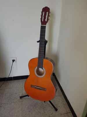 Used Classical Guitar Brand Martinez Color Brown Good Guitar Classical Guitar Acoustic Guitar