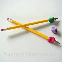Nice overview of pencil grips - benefits to different types