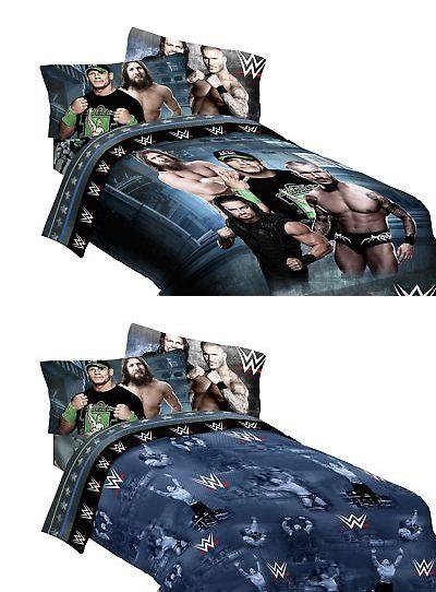WWE Industrial Strength Twin 64x86 Microfiber Comforter