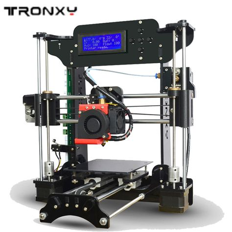 2017 NEWEST Auto level 3D printer Reprap i3 DIY kits melzi+8GB Card Bundle