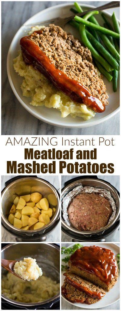 Instant Pot Meatloaf Recipe Instant Pot Dinner Recipes Instant Pot Recipes Easy Instant Pot Recipes