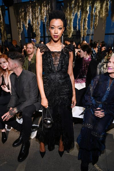 Actor Samira Wiley attends the Jonathan Simkhai fashion show during New York Fashion Week: The Shows.