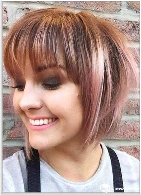 Kurzhaarfrisuren mit pony pinterest
