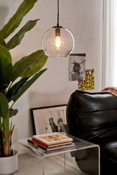 Clear Globe Pendant Light | Clear Globe Pendant Light, Globe Pendant Light, Pendant Light