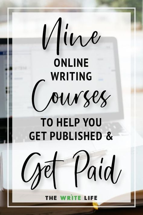 9 Online Writing Courses That Will Help You Get Published and Paid