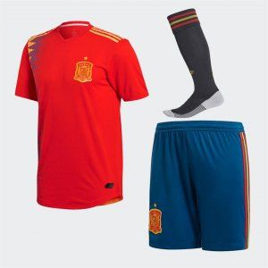 2018 World Cup Kit Spain Home Replica Red Full Suit Bfc488 France World Cup Jersey Red Suit World Cup Kits