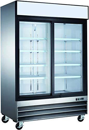 Best Seller Commercial Grade Merchandiser Refrigerator Vortex Refrigeration 2 Sliding Doors Fog Resistant Glass 49 Cu Ft 8 Adjustable Shelves For Re In 2020 Adjustable Shelving Sliding Doors Whole House Water Filter