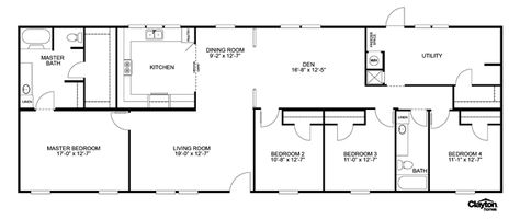 Oakwood Homes Floor Plans interactive floorplan game changer 3br 32563b | 46leg32563bh