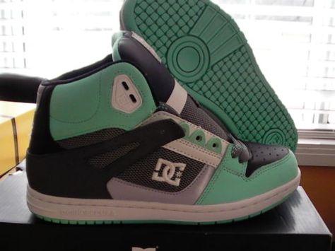 Women's dc skate shoes rebound hi